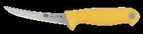 Нож разделочный MORA Frosts 7124-PG обвалочный (жёлтый)